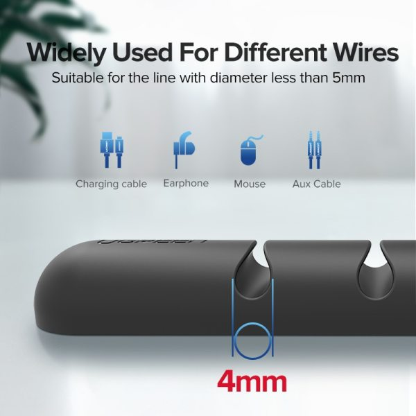 Ugreen Cable Organizer Silicone USB Cable Winder Flexible Cable Management Clips Cable Holder For Mouse Headphone 2 Ugreen Cable Organizer Silicone USB Cable Winder Flexible Cable Management Clips Cable Holder For Mouse Headphone Earphone
