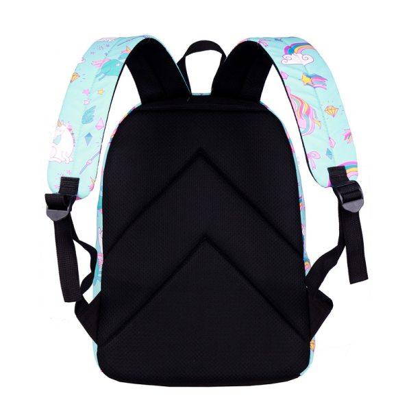 WINNER School Backpack Cartoon Rainbow Unicorn Design Water Repellent Backpack For Teenager Girls School Bags Mochila 1 WINNER School Backpack Cartoon Rainbow Unicorn Design Water Repellent Backpack For Teenager Girls School Bags Mochila 2019