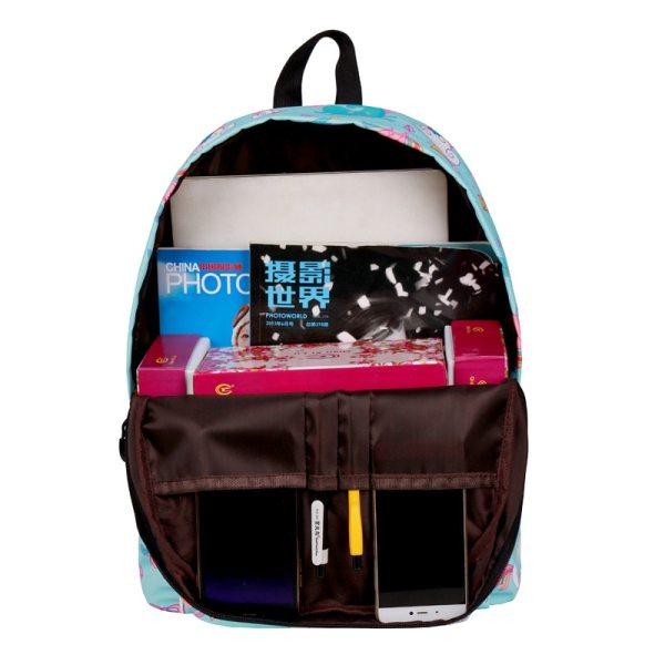 WINNER School Backpack Cartoon Rainbow Unicorn Design Water Repellent Backpack For Teenager Girls School Bags Mochila 5 WINNER School Backpack Cartoon Rainbow Unicorn Design Water Repellent Backpack For Teenager Girls School Bags Mochila 2019