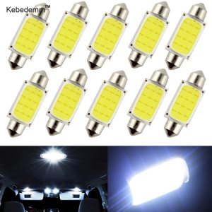 kebedemm 10pcs lot 31mm 36mm 39mm 41mm Car COB 1 5W DC12V Interior Car LED Bulbs Innrech Market.com