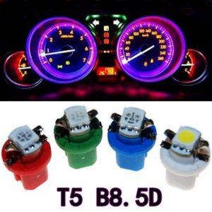 10Pcs B8 5D 509T B8 5 5050 Led 1 SMD T5 Lamp Car Gauge Speedo Dash Innrech Market.com