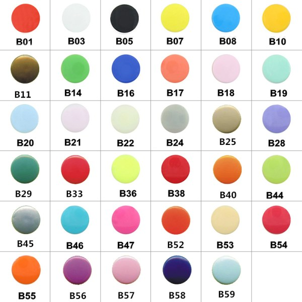 20 Sets KAM T5 12MM Round Plastic Snaps Button Fasteners Quilt Cover Sheet Button Garment Accessories 1 20 Sets KAM T5 12MM Round Plastic Snaps Button Fasteners Quilt Cover Sheet Button Garment Accessories For Baby Clothes Clips