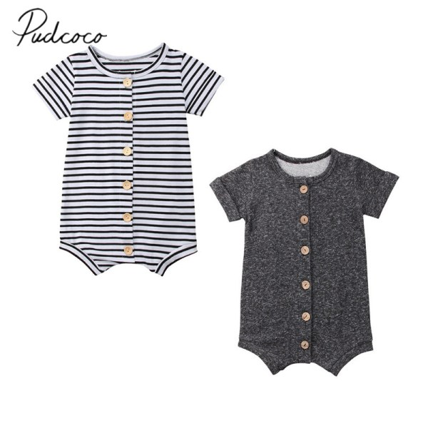 2018 Brand New Newborn Toddler Infant Baby Boys Girl Casual Romper Jumpsuit Cotton Short Sleeve Clothes 2018 Brand New Newborn Toddler Infant Baby Boys Girl Casual Romper Jumpsuit Cotton Short Sleeve Clothes Summer Sunsuit Outfits