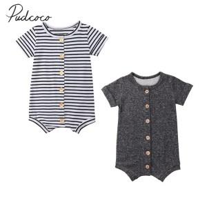 2018 Brand New Newborn Toddler Infant Baby Boys Girl Casual Romper Jumpsuit Cotton Short Sleeve Clothes Innrech Market.com