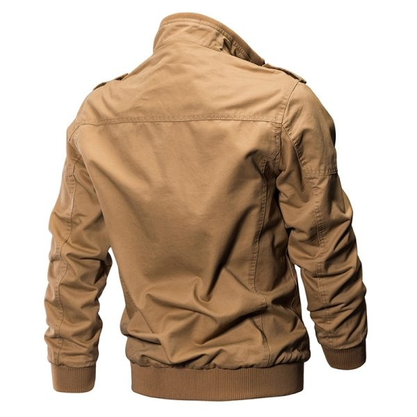 2019 Military Jacket Men Cargo Tactical Bomber Jacket Male Plus Size 6XL Casual Zipper Air Force 5 2019 Military Jacket Men Cargo Tactical Bomber Jacket Male Plus Size 6XL Casual Zipper Air Force Pilot Flight Cotton Coat Jacket