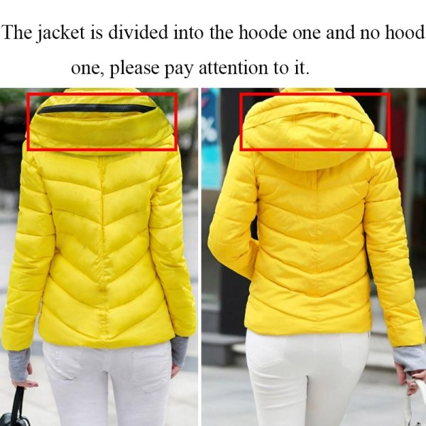 2019 Winter Jacket women Plus Size Womens Parkas Thicken Outerwear solid hooded Coats Short Female Slim 4 2019 Winter Jacket women Plus Size Womens Parkas Thicken Outerwear solid hooded Coats Short Female Slim Cotton padded basic tops