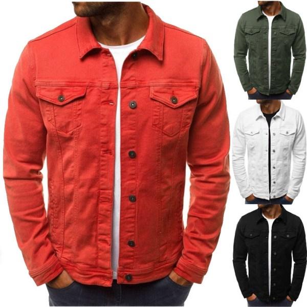 2019 men s Jacket casual overalls jacket jacket Coats Man Buttons 2019 men's Jacket casual overalls jacket jacket Coats Man Buttons