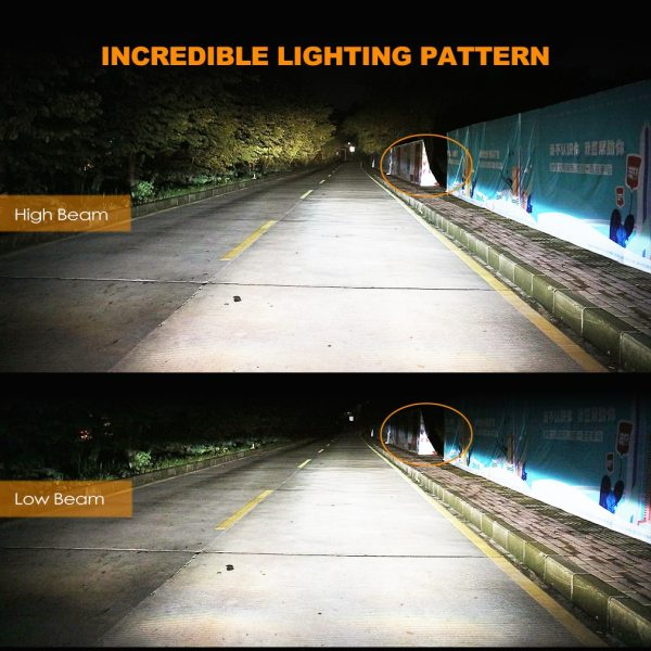 2Pcs H4 LED H7 H11 H8 9006 HB4 H1 H3 HB3 H9 H27 Car Headlight Bulbs 3 2Pcs H4 LED H7 H11 H8 9006 HB4 H1 H3 HB3 H9 H27 Car Headlight Bulbs LED Lamp with 1515 Chips 12000LM Auto Fog Lights 6000K 12V