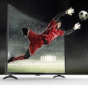 32 inch Large Screen 3000R Curved TV mulit Language Voice artificial intelligence Wired and Wireless LED Innrech Market.com