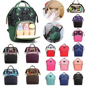 41color Mummy Backpack Zipper Large Capacity Travel Maternity Bag Diaper Baby Bag Multifunctional Nursing Bag Backpack Innrech Market.com