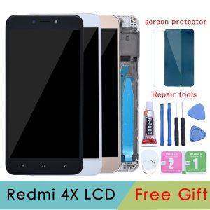 5 0 Original LCD For XIAOMI Redmi 4X Display Touch Screen with Frame For XIAOMI Redmi Innrech Market.com