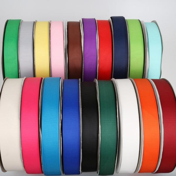 5Yards Roll Grosgrain Satin Ribbons for Wedding Christmas Party Decorations DIY Bow Craft Ribbons Card Gifts 1 5Yards/Roll Grosgrain Satin Ribbons for Wedding Christmas Party Decorations DIY Bow Craft Ribbons Card Gifts Wrapping Supplies