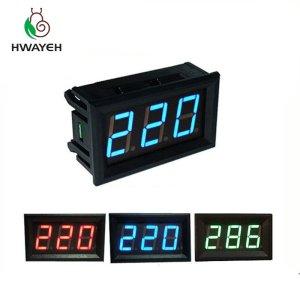 AC 70 500V 0 56 LED Digital Voltmeter Voltage Meter Volt Instrument Tool 2 Wires Red Innrech Market.com