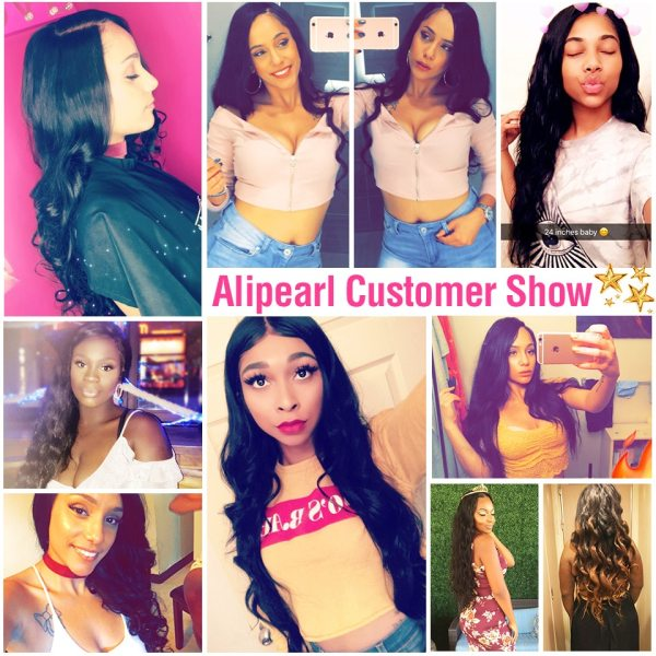 AliPearl Brazilian Body Wave 3 Bundles With Frontal Closure Brazilian Hair Weave Bundles With Frontal 13x4 5 AliPearl Brazilian Body Wave 3 Bundles With Frontal Closure Brazilian Hair Weave Bundles With Frontal 13x4 Remy Hair Extension