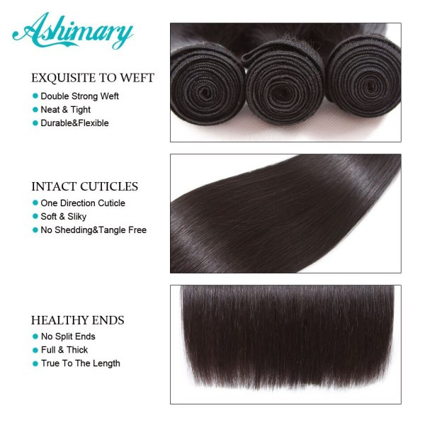 Ashimary Malaysian Straight Hair 13x4 Lace Frontal Closure with Bundles Remy Human Hair Bundles with Lace 2 Ashimary Malaysian Straight Hair 13x4 Lace Frontal Closure with Bundles Remy Human Hair Bundles with Lace Frontal Low Ratio