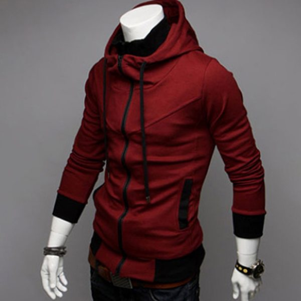 Bigsweety Fashion 2018 New Autumn Winter Men s Jacket Male Color Matching Jacket Male s Hooded 3 Bigsweety Fashion 2018 New Autumn Winter Men's Jacket Male Color Matching Jacket Male's Hooded Coat Outwear