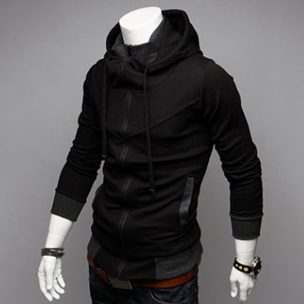 Bigsweety Fashion 2018 New Autumn Winter Men s Jacket Male Color Matching Jacket Male s Hooded 6 Bigsweety Fashion 2018 New Autumn Winter Men's Jacket Male Color Matching Jacket Male's Hooded Coat Outwear