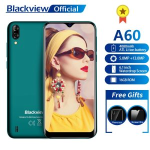 Blackview A60 Smartphone 4080mAh 1GB 16GB Quad Core Android 8 1 6 1 inch 19 2 Innrech Market.com