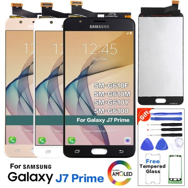 """For SAMSUNG GALAXY J7 Prime LCD G610 G610F G610M Display Touch Screen Digitizer Replacement For 5 For SAMSUNG GALAXY J7 Prime LCD G610 G610F G610M Display Touch Screen Digitizer Replacement For 5.5"""" SAMSUNG J7 Prime LCD"""