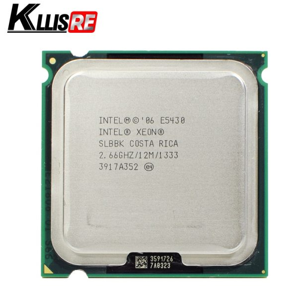 INTEL XEON E5430 2 66GHz 12M 1333Mhz CPU Processor Works on LGA775 motherboard INTEL XEON E5430 2.66GHz 12M 1333Mhz CPU Processor Works on LGA775 motherboard