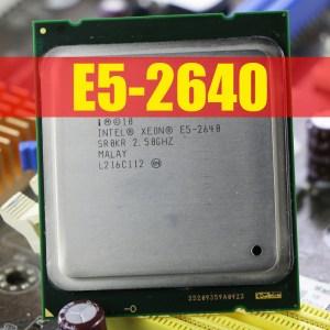 Intel Xeon Processor E5 2640 Six Core 15M Cache 2 5 GHz 8 00 GT s Innrech Market.com