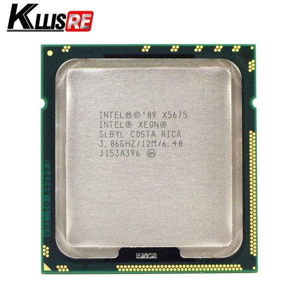 Intel Xeon X5675 3 06GHz 12M Cache Hex 6 SIX Core Processor LGA1366 SLBYL QTY 1 Intel Xeon X5675 3.06GHz 12M Cache Hex 6 SIX Core Processor LGA1366 SLBYL QTY:1