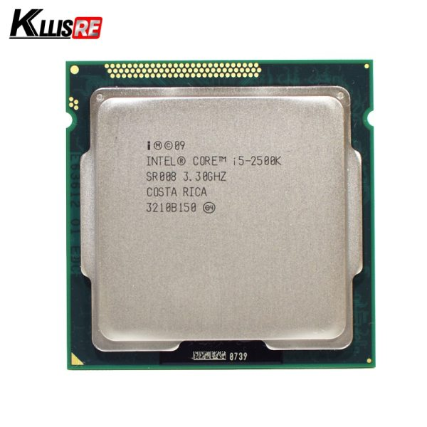 Intel i5 2500K Quad Core 3 3GHz LGA 1155 Processor TDP 95W 6MB Cache With HD Intel i5 2500K Quad-Core 3.3GHz LGA 1155 Processor TDP 95W 6MB Cache With HD Graphics i5-2500k Desktop CPU