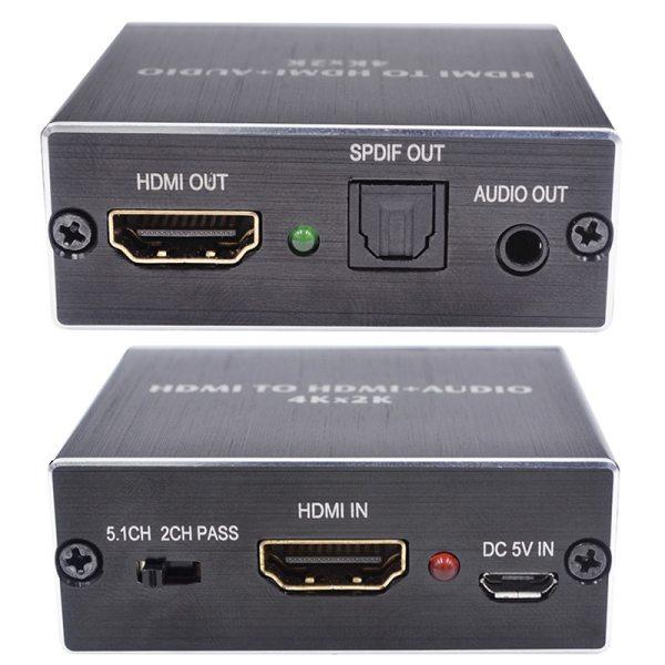 KEBIDU 4K x 2K HDMI audio extractor Optical TOSLINK SPDIF 3 5mm Stereo Audio Extractor Converter 2 KEBIDU 4K x 2K HDMI audio extractor + Optical TOSLINK SPDIF + 3.5mm Stereo Audio Extractor Converter HDMI Audio Splitter
