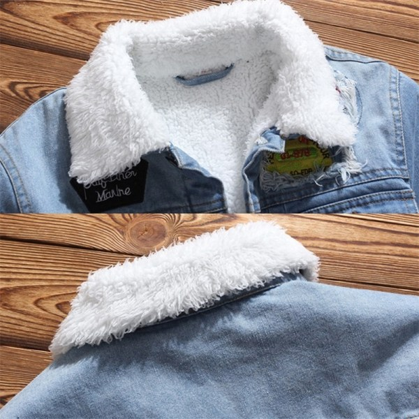 LBL Fleece Inner Denim Jacket Men Winter Fashion Slim Trendy Warm Thick Mens Jean Jackets Outwear 5 LBL Fleece Inner Denim Jacket Men Winter Fashion Slim Trendy Warm Thick Mens Jean Jackets Outwear Motorcycle Coats Cowboy 2019