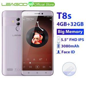 LEAGOO T8s 4GB RAM 32GB ROM Mobile Phone Android 8 1 5 5 1920 1080 MTK6750T Innrech Market.com