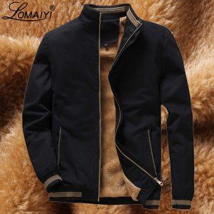 LOMAIYI Men s Winter Jacket Men Warm Fleece Lining Coat Mens Jackets And Coats Male Windbreaker Innrech Market.com
