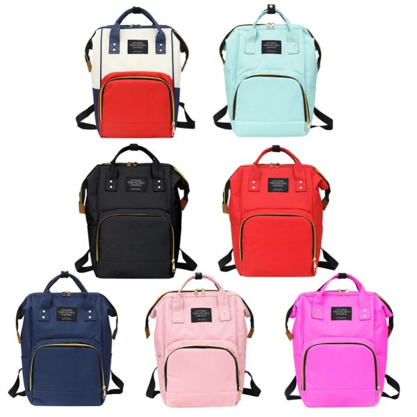Large Capacity Mummy Diaper Bags Zipper Mother Travel Backpacks Maternity Handbags Pregnant Women Baby Nappy Nursing Large Capacity Mummy Diaper Bags Zipper Mother Travel Backpacks Maternity Handbags Pregnant Women Baby Nappy Nursing Diaper Bags
