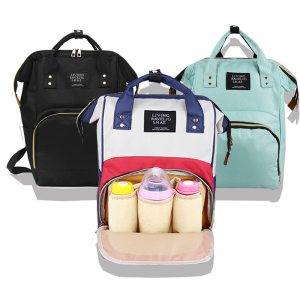 Large Capacity Mummy Maternity Nappy Bag Outdoor Mom s Backpack Nursing Bag Mummy Travel Backpack Zippers Innrech Market.com