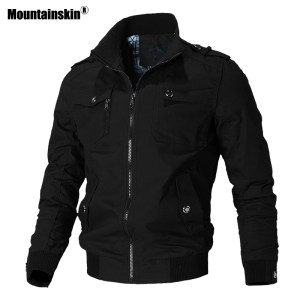 Mountainskin Casual Jacket Men Spring Autumn Army Military Jackets Mens Coats Male Outerwear Windbreaker Brand Clothing Innrech Market.com
