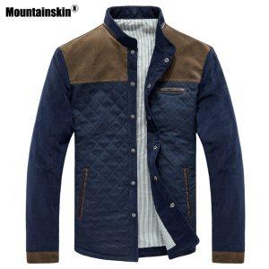 Mountainskin Spring Autumn Men s Jacket Baseball Uniform Slim Casual Coat Mens Brand Clothing Fashion Coats Innrech Market.com