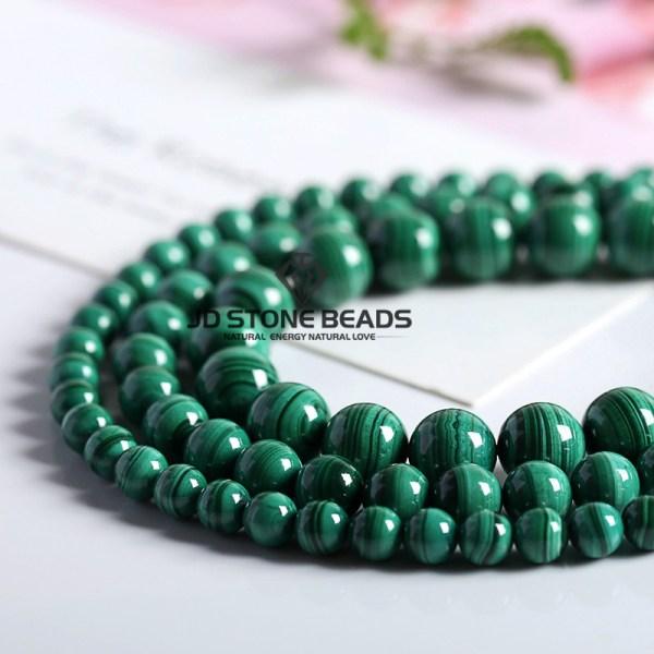 Natural Malachite Beads Dark Green Color 4 6 8 10mm Pick Size Semi precious stones Accessories 1 Natural Malachite Beads Dark Green Color 4 6 8 10mm Pick Size Semi-precious stones Accessories For Jewelry Making