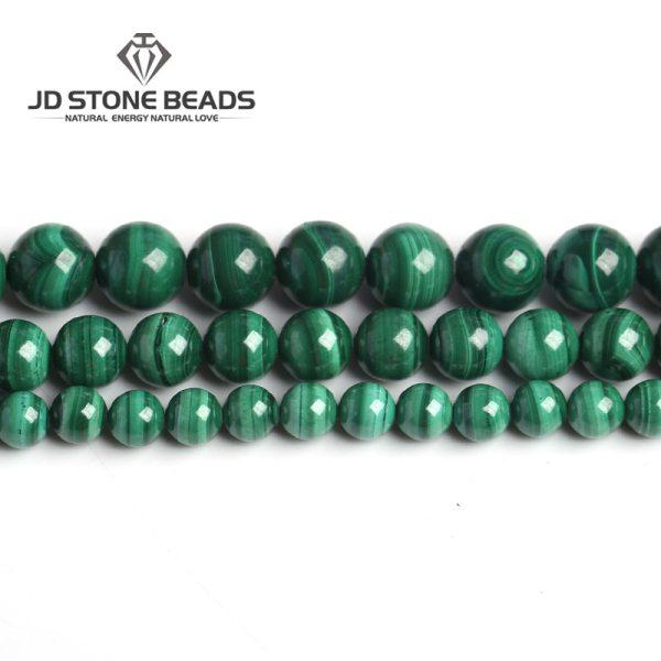 Natural Malachite Beads Dark Green Color 4 6 8 10mm Pick Size Semi precious stones Accessories Natural Malachite Beads Dark Green Color 4 6 8 10mm Pick Size Semi-precious stones Accessories For Jewelry Making