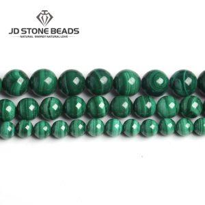 Natural Malachite Beads Dark Green Color 4 6 8 10mm Pick Size Semi precious stones Accessories Innrech Market.com
