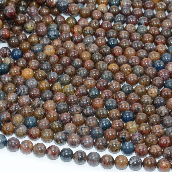 Natural Pietersite Stone Loose Round Beads 8mm 10mm 1 Natural Pietersite Stone Loose Round Beads 8mm / 10mm