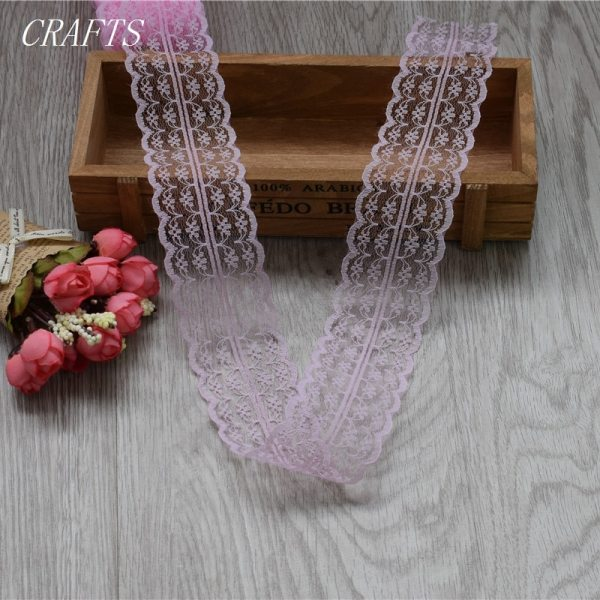New 10 yards of beautiful lace ribbon 4 5 cm wide DIY Clothing Accessories floral accessories 3 New! 10 yards of beautiful lace ribbon, 4.5 cm wide, DIY Clothing / Accessories / floral accessories, etc.