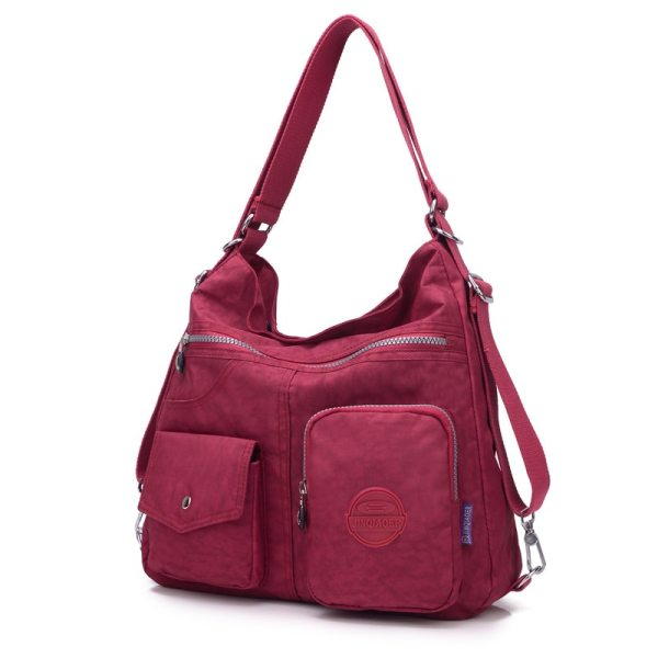 Nylon Women Backpack Natural School Bags for Teenager Casual Female Preppy Style Shoulder Bags Mochila Travel Nylon Women Backpack Natural School Bags for Teenager Casual Female Preppy Style Shoulder Bags Mochila Travel Bookbag Knapsack
