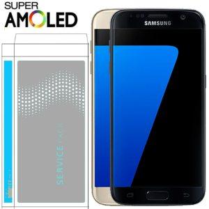 ORIGINAL 5 1 SUPER AMOLED LCD with Frame for SAMSUNG Galaxy S7 Flat Display G930 G930F Innrech Market.com
