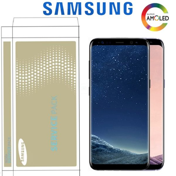 Original Super AMOLED Display For Samsung S8 G950F G950U S8 Plus G955 G955F LCD Touch Screen Original Super AMOLED Display For Samsung S8 G950F G950U S8 Plus G955 G955F LCD Touch Screen Digitizer Assembly With Frame