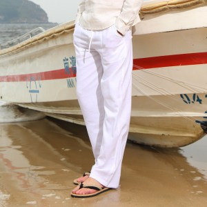 Spring And Summer Men Fashion Brand Chinese Style Cotton Linen Loose Pants Male Casual Simple Thin Innrech Market.com