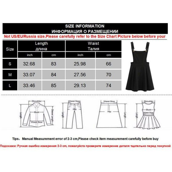 Summer Women Mini Party Dress 2019 Casual Sleeveless Zip Up Back Pinafore Dress Autumn Black Pleated 5 Summer Women Mini Party Dress 2019 Casual Sleeveless Zip Up Back Pinafore Dress Autumn Black Pleated Overall Dress Plus Size