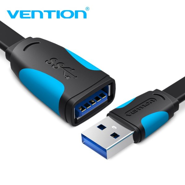 Vention USB2 0 3 0 Extension Cable Male to Female Extender Cable USB3 0 Cable Vention USB2.0 3.0 Extension Cable Male to Female Extender Cable USB3.0 Cable Extended for laptop PC USB Extension Cable