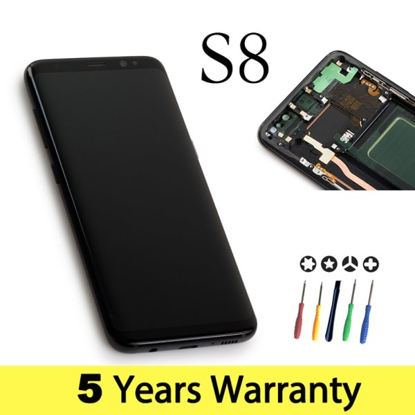 Wholesale Lcd For Samsung S8 Display Touch Screen Original G950F G950U G950Fd Display For Samsung S8 Wholesale Lcd For Samsung S8 Display Touch Screen Original G950F G950U G950Fd Display For Samsung S8 Lcd Touch Galaxy S8 Screen
