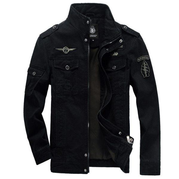 Winter Cargo Plus Size M XXXL 5XL 6XL Casual Man Jackets Army Clothes Brand 2018 Mens 1 Winter Cargo Plus Size M-XXXL 5XL 6XL Casual Man Jackets Army Clothes Brand 2018 Mens Green Khaki 3 Colors Military Jacket