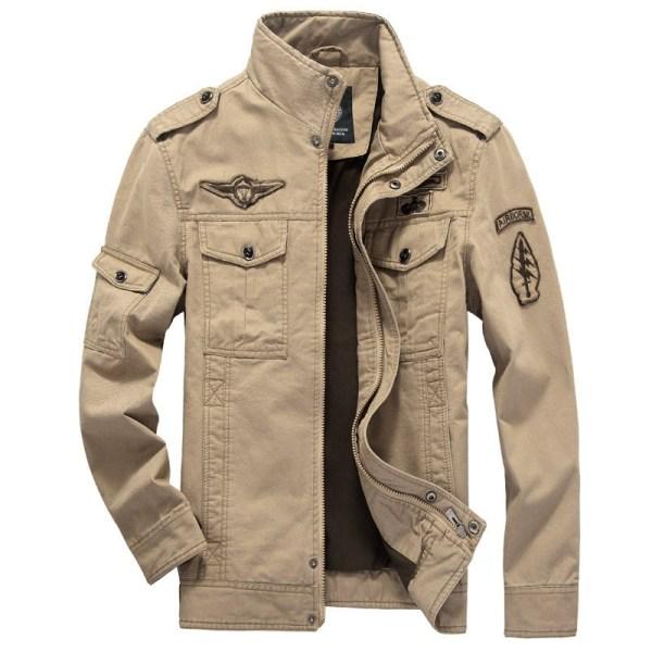 Winter Cargo Plus Size M XXXL 5XL 6XL Casual Man Jackets Army Clothes Brand 2018 Mens Winter Cargo Plus Size M-XXXL 5XL 6XL Casual Man Jackets Army Clothes Brand 2018 Mens Green Khaki 3 Colors Military Jacket