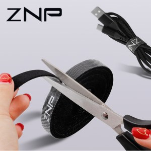 ZNP Cable Organizer Wire Winder Holder Earphone Mouse Cord Clip Protector USB Cable Management For iPhone Innrech Market.com